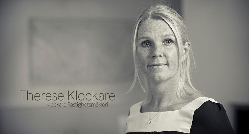 Therese Klockare : Klockare Fastighetsmäkleri